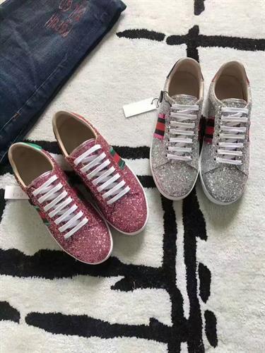 נעלי ספורט Ace glitter מבית GUCCI