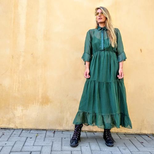 שמלת ALINA זית