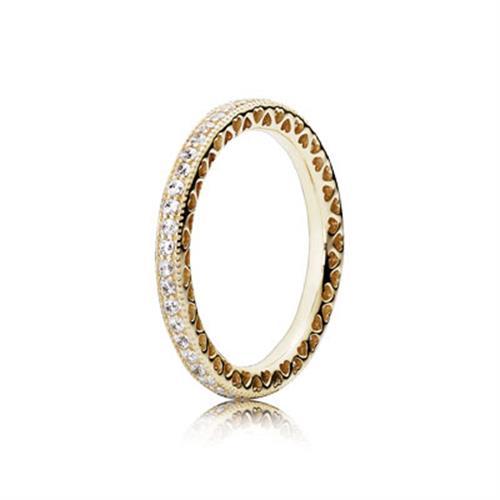 טבעת זהב פנדורה 150181CZ