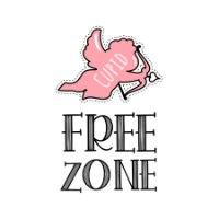 חולצת טי Free Zone