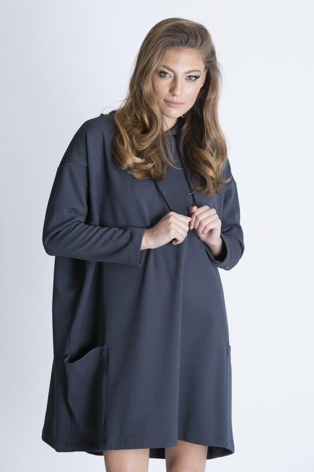 שמלת פאנקי אפור