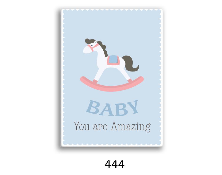 תמונת השראה מעוצבת לתינוקות, לסלון, חדר שינה, מטבח, ילדים - תמונת השראה דגם 444