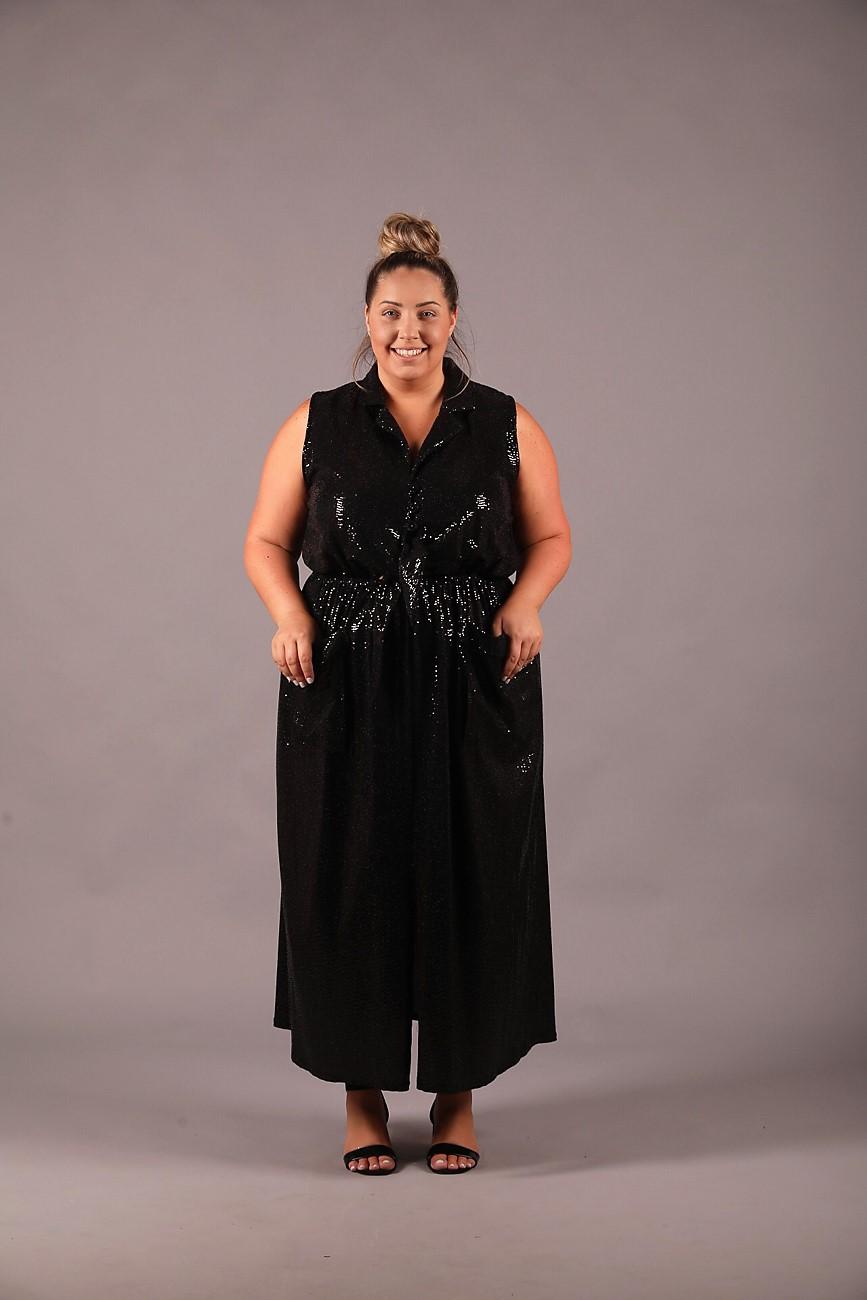 שמלת סמנתה ערב פייטים
