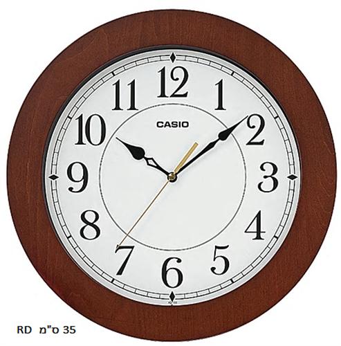שעון קיר עץ CASIO IQ-133-5