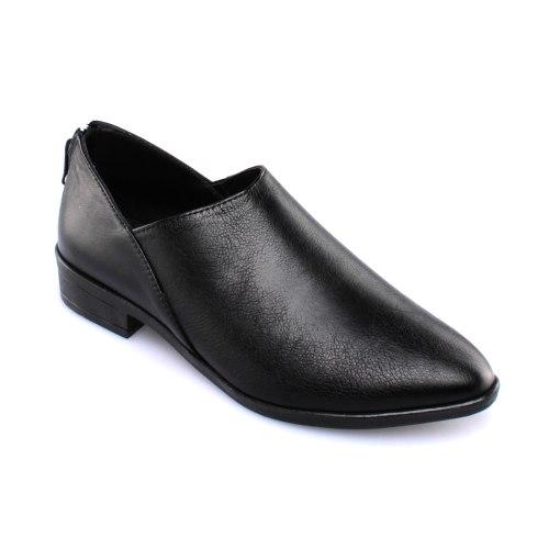 נעל עור פררה - שחור
