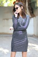 שמלת אוסקר פאייטים