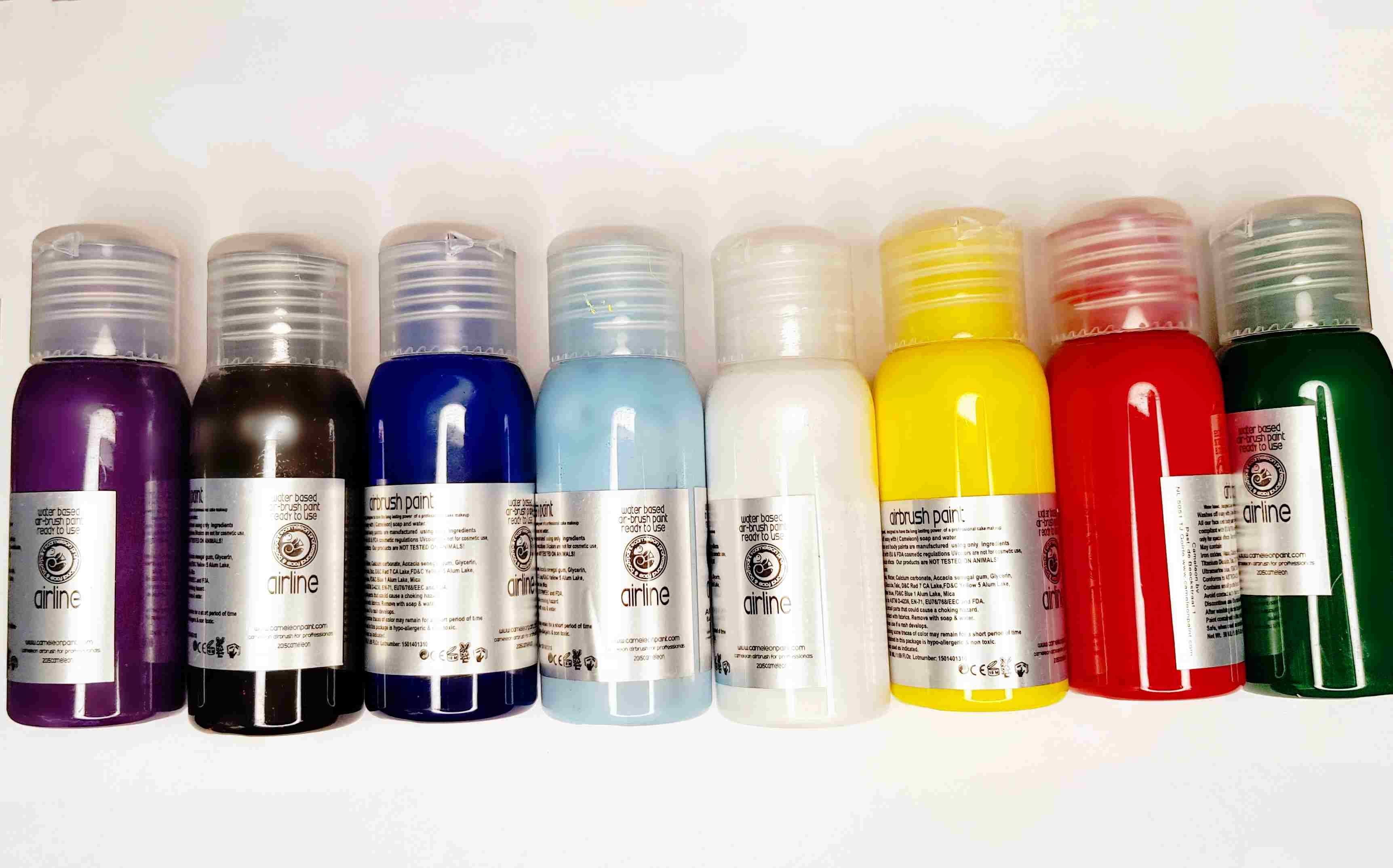 צבעים נוזלים airbrush color 50 ml