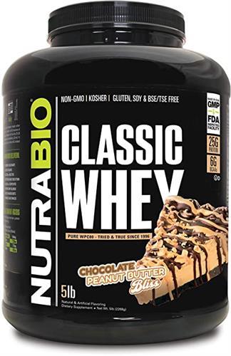 Classic Whey Protein | קלאסיק וואי פרוטאין 2.27 NUTRABIO כשר