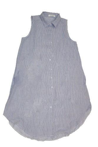 שמלת טוניקה ארוכה ללא שרוולים