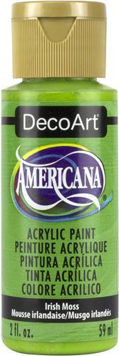 """צבע אמריקנה 59 מ""""ל Irish Moss DA312"""