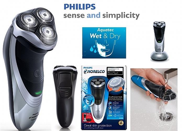 מכונת גילוח Philips AT815 פיליפס