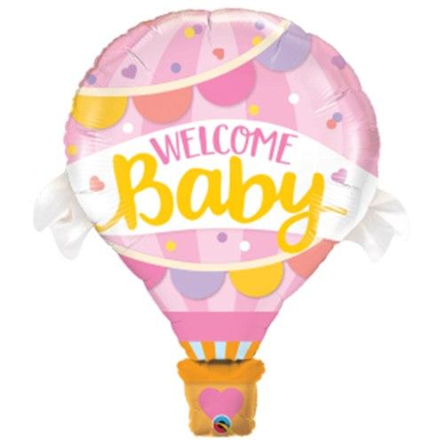 בלון כדור פורח WELCOME BABY כדור פורח