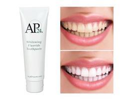 משחת שיניים מהפכנית מלבינה מסדרת  AP-24® WHITENING FLUORIDE TOOTHPASTE