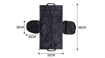 תיק נסיעות מפנק 2 ב1  – Luxurious Travel Bag