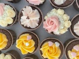 מארז מאפינס שוקולד אהבה - ללא קמח חיטה