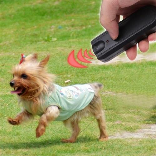 מכשיר נייד אולטראסוני להרחקה/אילוף כלבים וחתולים