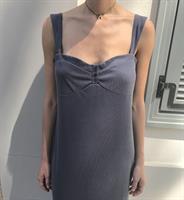 שמלת לוסיל אפור כהה