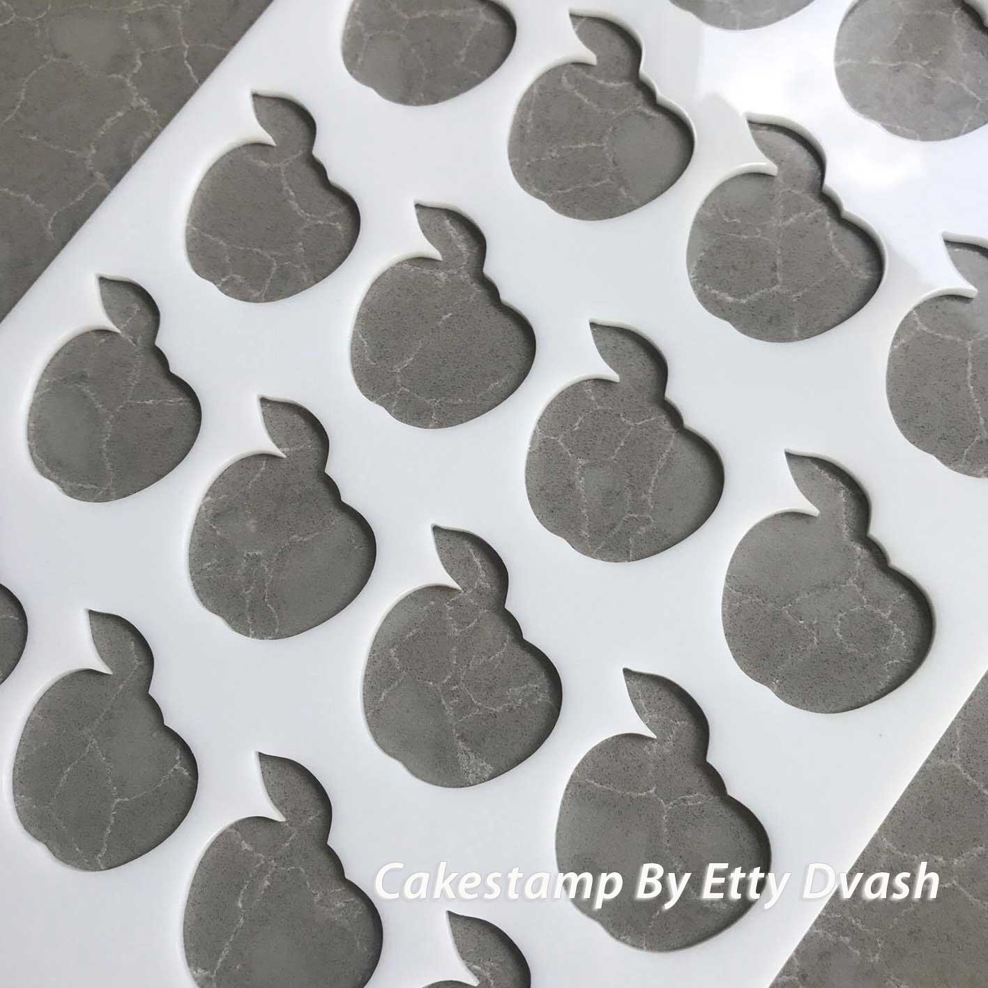 Appel Stencils Mat for Chocolate