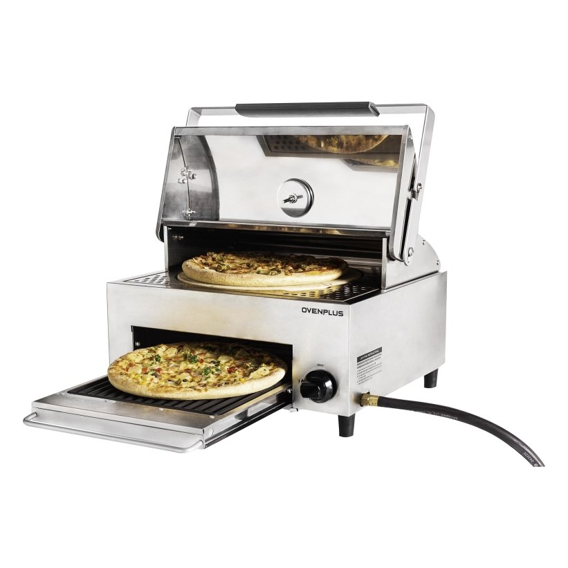 תנור פיצה משולב Capt'n Coock
