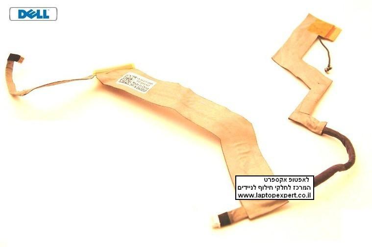 """כבל מסך למחשב נייד Dell Vostro 1220 12.1"""" LED LCD Video Cable 0W301P W301P , DD0AM3LC300"""