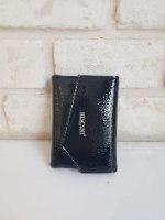 ארנק דמוי עור שחור 4003