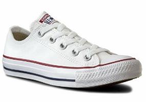 נעלי CONVERSE אולסטאר סניקרס לבן נמוך יוניסקס