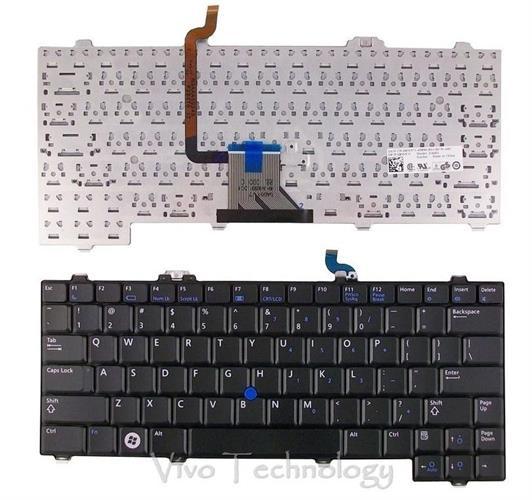 החלפת מקלדת למחשב נייד דל DELL Latitude XT Tablet Keyboard 0RW571, RW571