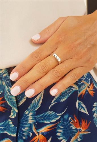 טבעת חריטה חותם
