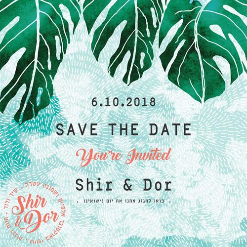 SAVE THE DATE - Tropical