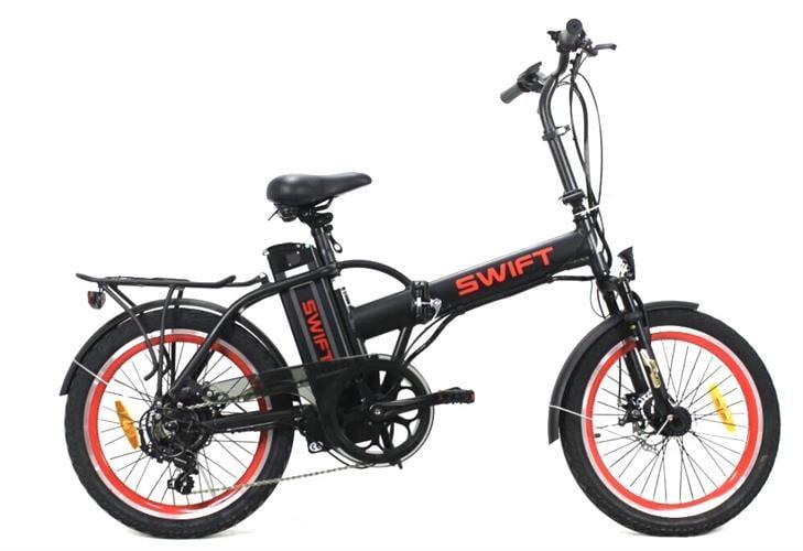 אופניים חשמליים SWIFT CLASSIC עם 2 מעצורי דיסק