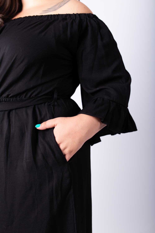 אוברול קאי קצר שחור