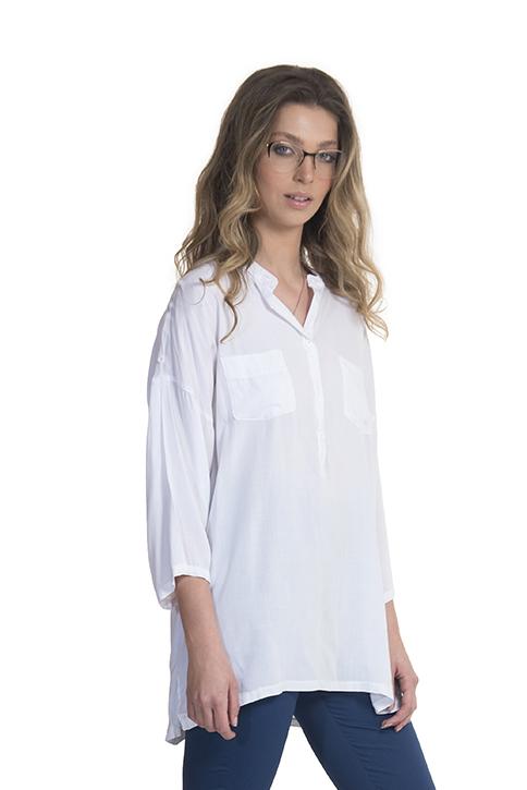 חולצה שרית לבן