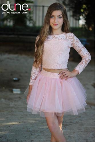 סט טוטו חצאית וחולצה מיוחדת