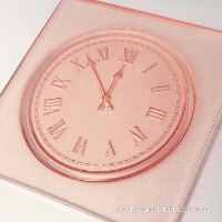COUNTDOWN CLOCK - New Embosser Stamp For Fondant And Chocolate| Clock Embosser Stamp