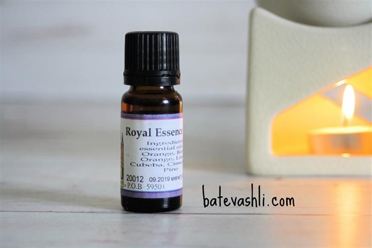 Royal Essence|תערובת שמנים למבער
