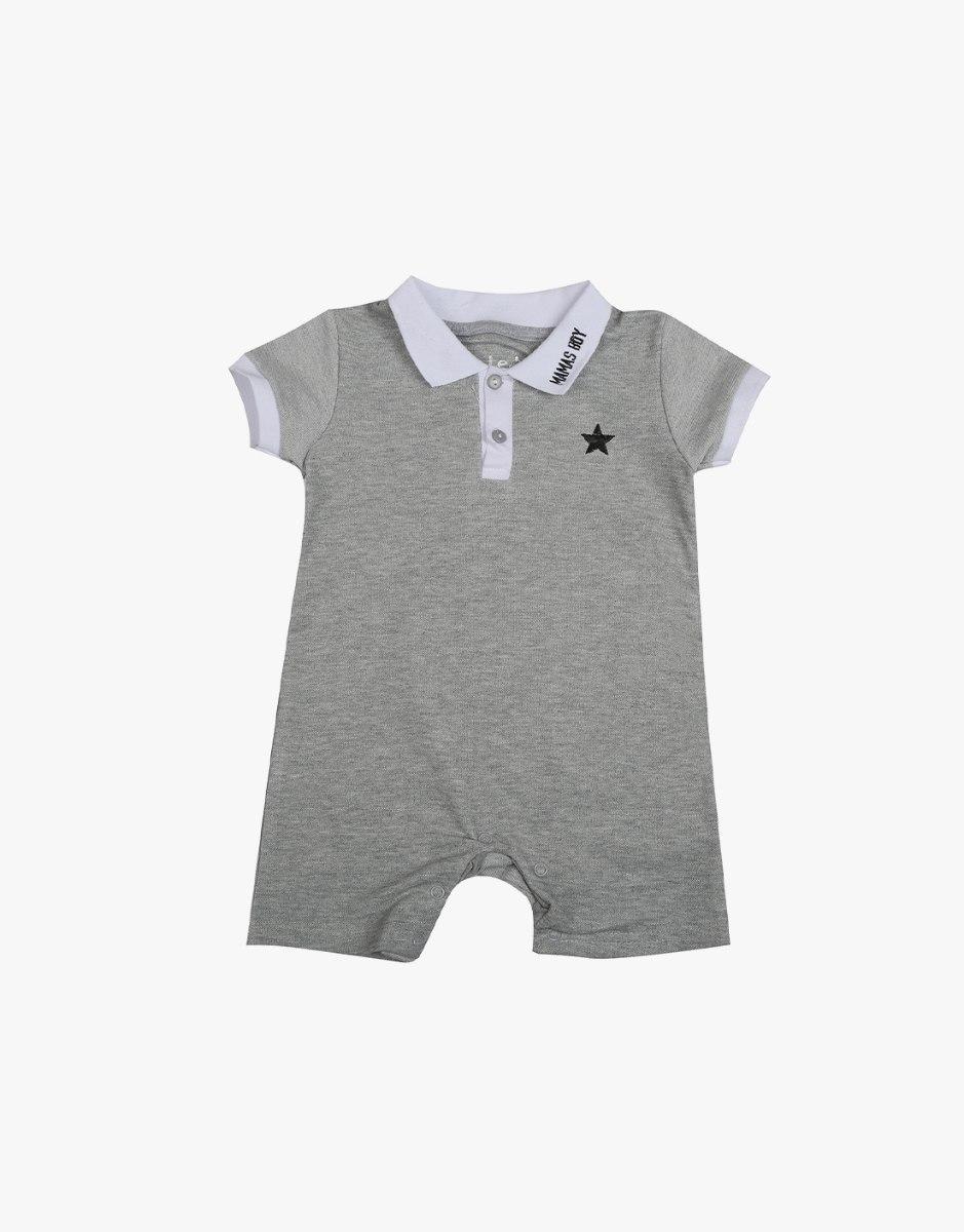 אוברול תינוקות פולו כוכב
