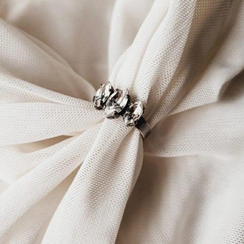 טבעת שפיצים -כסף