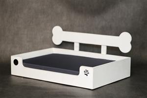מיטה לכלב - בונזי L לבן ווש