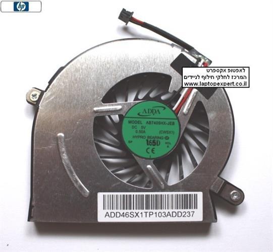 מאוורר למחשב נייד HP 5220 5220m Laptop Fan 610825-001 MODEL: AB7405HX-JEB -CWSX1