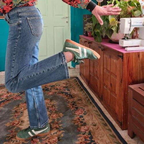 ג'ינס LEE גזרה נמוכה מידה L