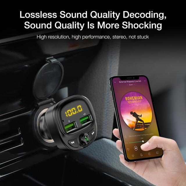 משדר מקצועי fm לרכב