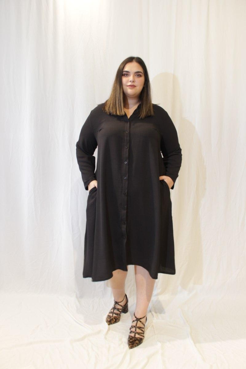 שמלת ניו יורק שחורה