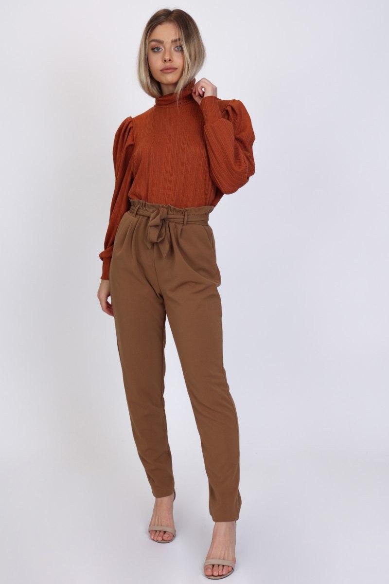 מכנס גרסי חגורה