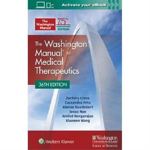 The Washington Manual of Medical Therapeutics 36th edition