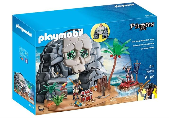 Take Along Pirate Skull Island 70113