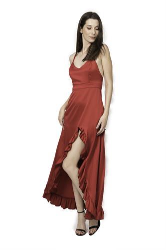 שמלת מורנה אדום