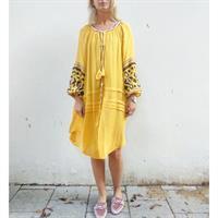 שמלת קארי חרדל