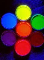 צבעים זוהרים 32 גרם cameleon uv