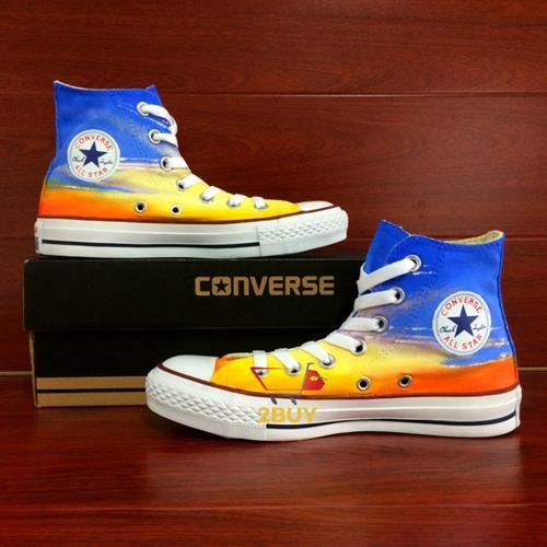 נעלי converse design all star chuck taylor יוניסקס בעיצוב בלעדי Eiffel Tower במידות 35-49