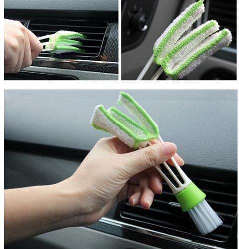 כלי לניקוי תריסי מזגן ברכב וכו